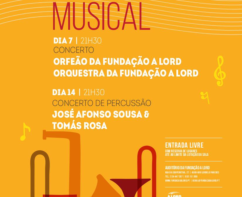 Concertos | Outubro Musical | 7 e 14 outubro