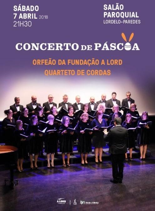 Espetáculo | CONCERTO DE PÁSCOA | 7 abril