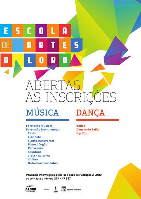 Inscrições | ESCOLA DE ARTES | 10 a 14 setembro