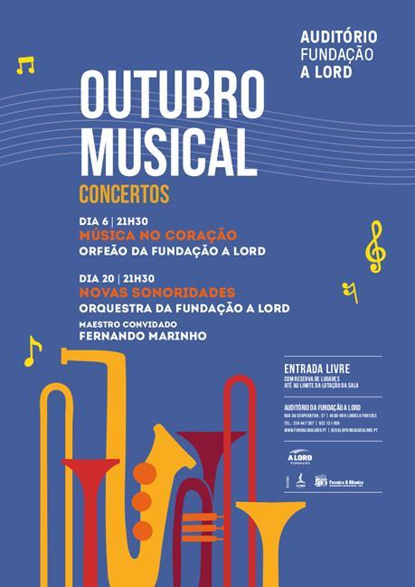 Concertos | OUTUBRO MUSICAL | 6 e 20 outubro