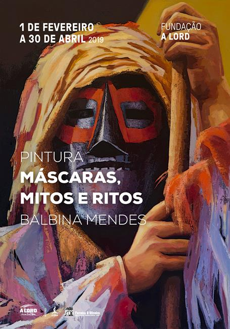 Abertura de exposição | MÁSCARAS, MITOS E RITOS | 23 fevereiro | 21h