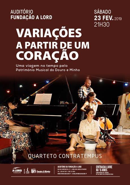 Concerto | VARIAÇÕES A PARTIR DE UM CORAÇÃO | 23 fevereiro