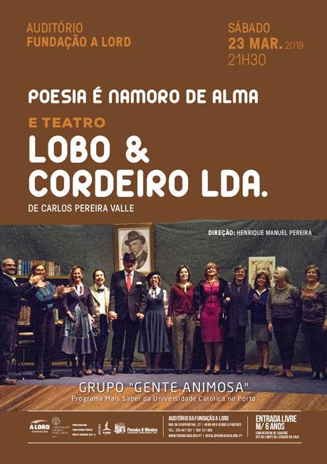 Teatro | LOBO & CORDEIRO LDA. | 23 março 2019