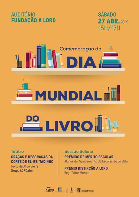 Teatro e Sessão Solene | COMEMORAÇÃO DO DIA MUNDIAL DO LIVRO | 27 abril 2019