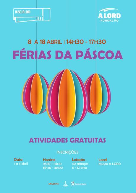 Inscrições | FÉRIAS DA PÁSCOA | Abril