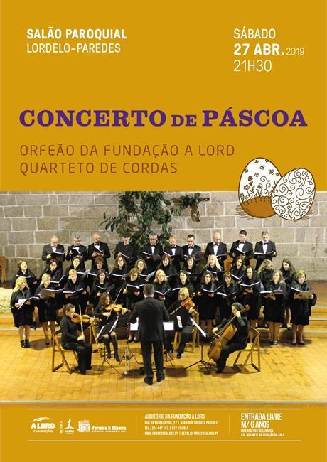 Música | CONCERTO DE PÁSCOA | 27 abril 2019