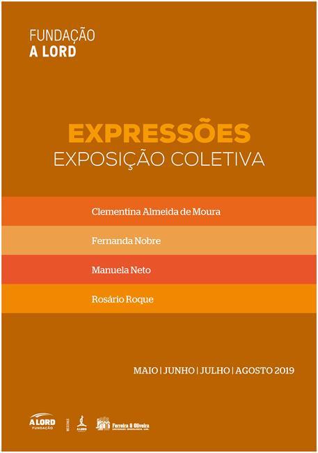 Inauguração da exposição coletiva | EXPRESSÕES | 11 maio 2019 | 21h
