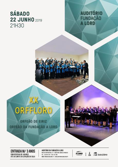 Encontro de Coros | XX ORFFLORD | 22 junho 2019