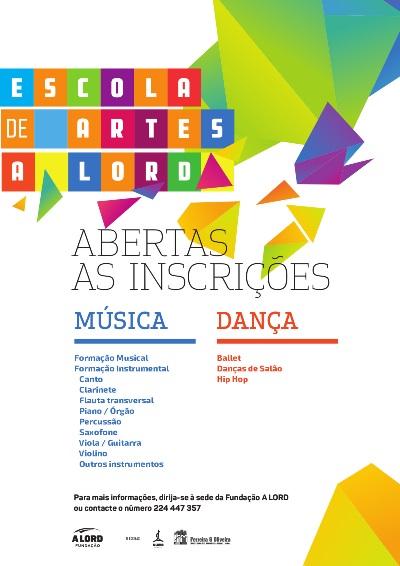 Abertas as inscrições | ESCOLA DE MÚSICA E ESCOLA DE DANÇA | a partir de agosto