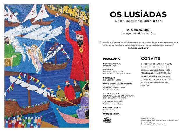 Abertura exposição | OS LUSÍADAS NA FIGURAÇÃO DE LEVI GUERRA | 28 setembro 2019