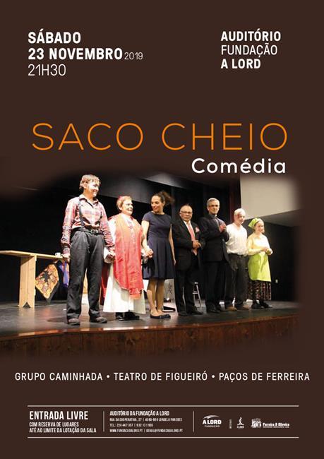 Comédia | SACO CHEIO | 23 novembro 2019