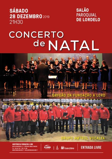 Espetáculo | CONCERTO DE NATAL | 28 dezembro 2019