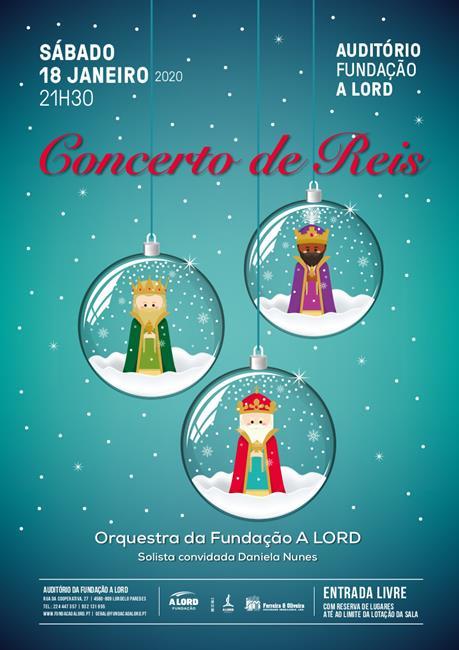 Espetáculo | CONCERTO DE REIS | 18 janeiro 2020